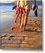 Always Ourselves We Find In The Sea Metal Print