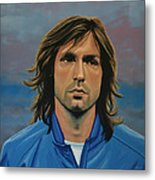 Andrea Pirlo Metal Print by Paul Meijering