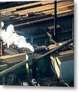Arcelormittal Dofasco Up Close Metal Print