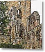 Augustinian Abbey Metal Print