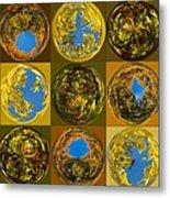 Autumn  Spheres Metal Print