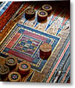 Backgammon Metal Print