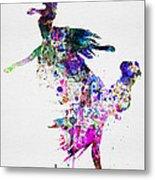 Ballet Watercolor 3 Metal Print