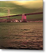 Bay Bridge, San Francisco Metal Print