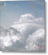 Beautiful Cloud Ring Metal Print