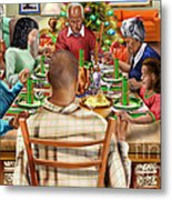 Bless Us O Lord And These Thy Gifts Metal Print