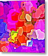 Bold And Colorful Phone Case Artwork Designs By Carole Spandau Cbs Art Exclusives 101 Metal Print