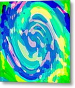 Bold And Colorful Phone Case Artwork Lovely Abstracts Carole Spandau Cbs Art Exclusives 134  Metal Print by Carole Spandau