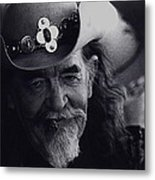 Born To The West Homage 1937 Buffalo Biil Helldorado Days Tombstone Arizona 1968-2008 Metal Print