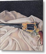 Buffalo Blackpowder Revolver  Metal Print by Elizabeth Dobbs