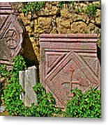 Byzantine Cross In Myra-turkey Metal Print