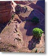 Canyon De Chelly Farmland Metal Print