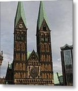 Cathedral Bremen - Germany Metal Print