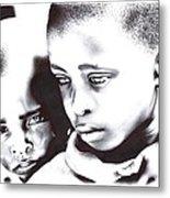 Children Should Not Be Sad ... Metal Print