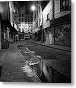 Chinatown New York City - Doyers Street Metal Print by Gary Heller