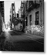 Chinatown New York City - Mechanics Alley Metal Print