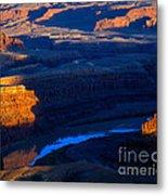 Colorado River Sunset Metal Print