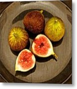 Common Fig Ficus Carica Metal Print by Venetia Featherstone-Witty