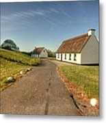 Corofin Thatched Cottages Metal Print