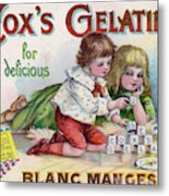 Cox's Gelatine For Delicious Metal Print