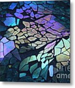 Cut Glass Mosaic  Metal Print