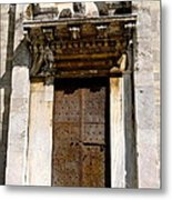 Doorway To The Duomo Metal Print