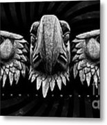 Eagle Square Metal Print