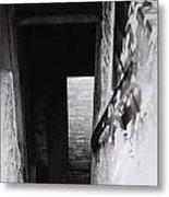 Ephrata Cloisters Stairway Metal Print