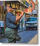 Feel It - Doreen's Jazz New Orleans 2 Metal Print