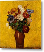 Flowers Metal Print by Odilon Redon