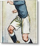 Fred Keenor, Player For Cardiff City Metal Print