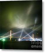 Golden Gate At Fifty Metal Print