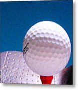 Golf Metal Print by David and Carol Kelly