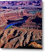 Grand View Point Overlook Metal Print