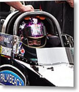 Hillary Will Las Vegas Motor Speed Way Strip Nhra Finals 2008 Metal Print