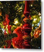 Holiday Decorations Metal Print