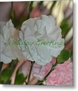 Holiday Greeting Card  Metal Print