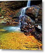 Holly River State Park Upper Falls Metal Print