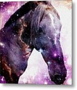 Horse In The Small Magellanic Cloud Metal Print by Anastasiya Malakhova