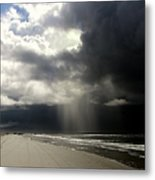 Hurricane Glimpse Metal Print