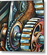 ' In Harmony ' Metal Print by Michael Lang