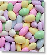 Jordan Almonds - Weddings - Candy Shop Metal Print