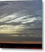 Kansas Prairie Grass Sunrise Metal Print