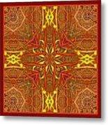 Keltic Cross Metal Print