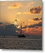Marelous Key West Sunset Metal Print