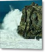 Lady Of Mugu Rock 1  Metal Print
