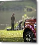 Landrover Discovery 4 Metal Print