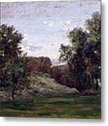 Landscape Near The Monastery Piedra. Aragon Metal Print
