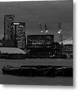 London Docklands Metal Print