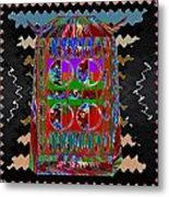 Magic Lamp Lights Up And Ask For 3 Wishes Chant 3 Times Jaag Jaag Kismat Metal Print